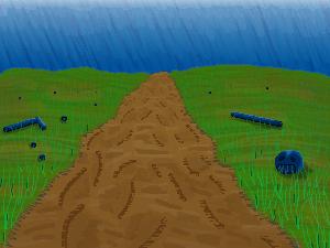 plain path pixel