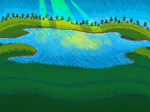 rest scene pixel
