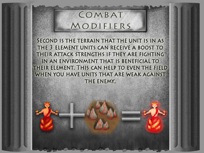combat modifiers 2