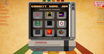 charity front page