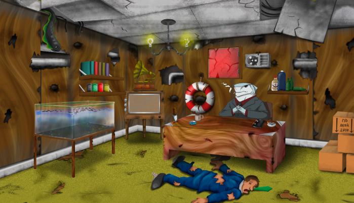 crap room