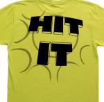 hit it