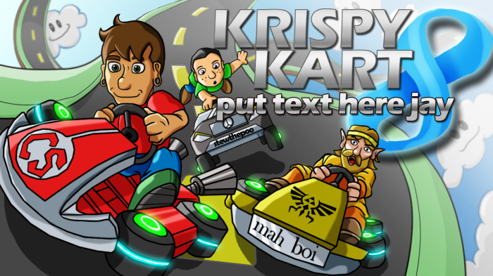 mario kart thumbnail preview