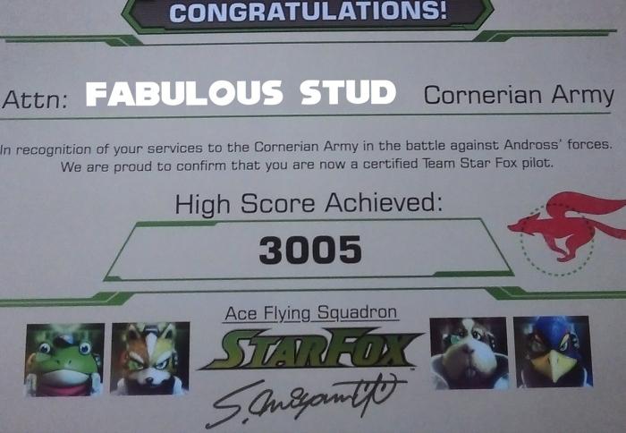 starfox-zero-ace-pilot-certificate